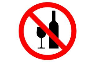 La foto sobre el fumar y el alcoholismo