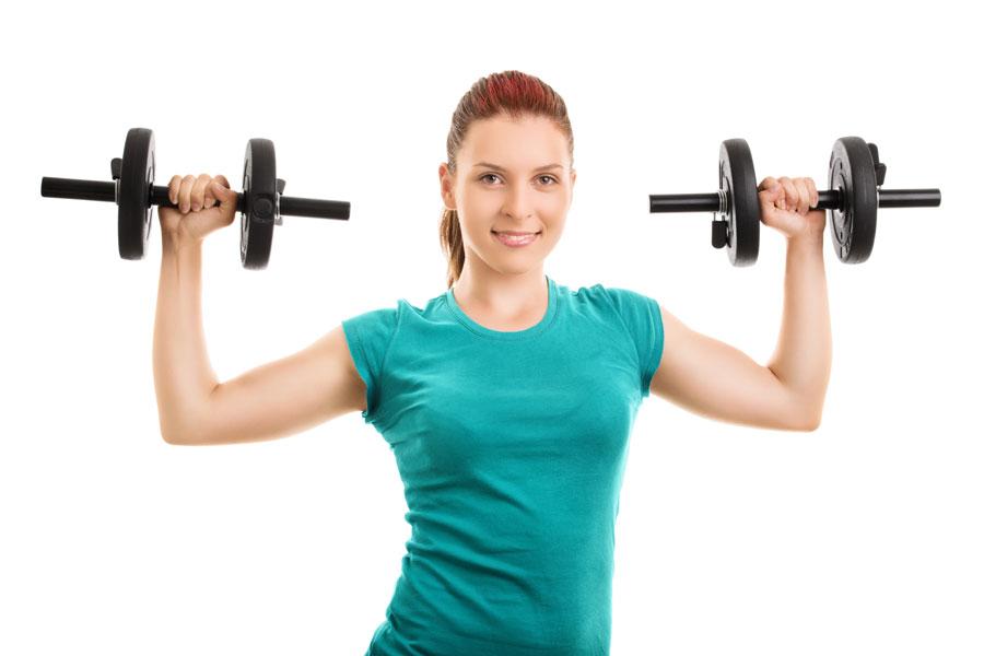 Cómo hacer ejercicios con pesas