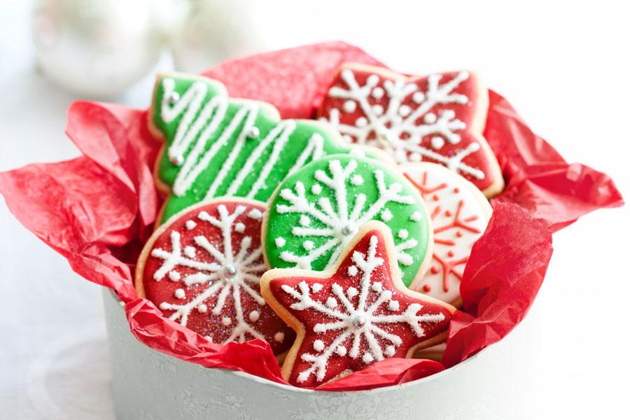 Galletas de azúcar para Navidad