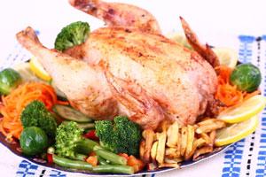 Ingredientes y preparación para hacer pollo la horno. Condimentos para hacer una receta fácil de pollo al horno. Cómo cocinar pollo en el horno