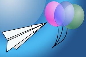 Un cumpleaños infantil con aviones de papel