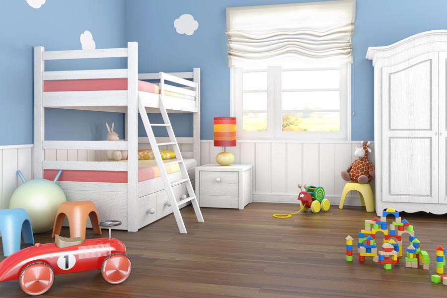 Decoraci n tem tica para un cuarto de ni o - Habitacion para nino ...