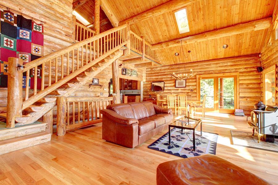 Cómo decorar una casa rústica