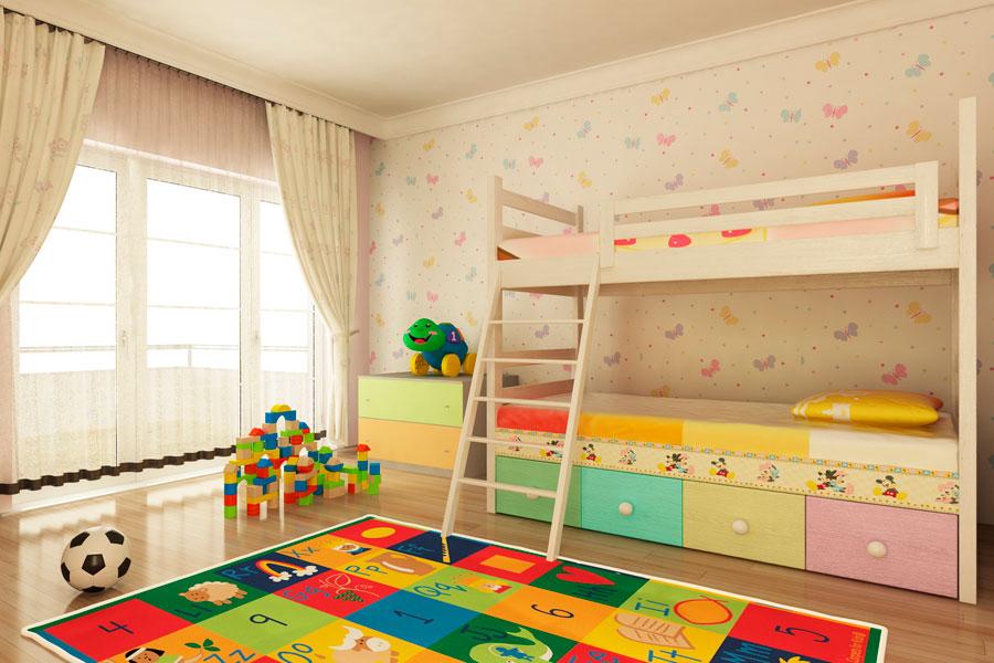 C mo decorar un cuarto de ni o - Habitacion para nino ...