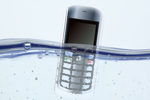 Cómo recuperar dispositivos mojados