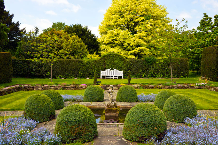 Cómo diseñar un jardín inglés
