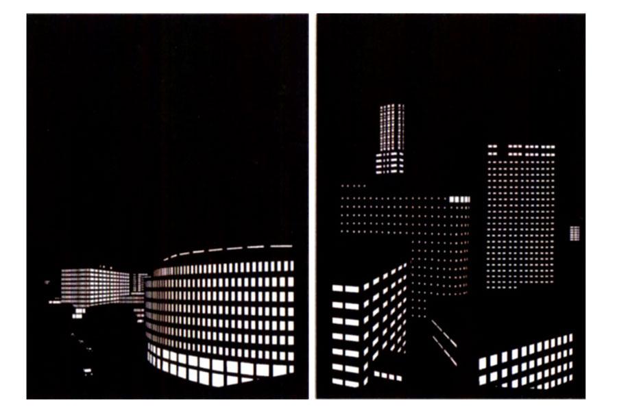 Cómo hacer un blackout con paisaje urbano