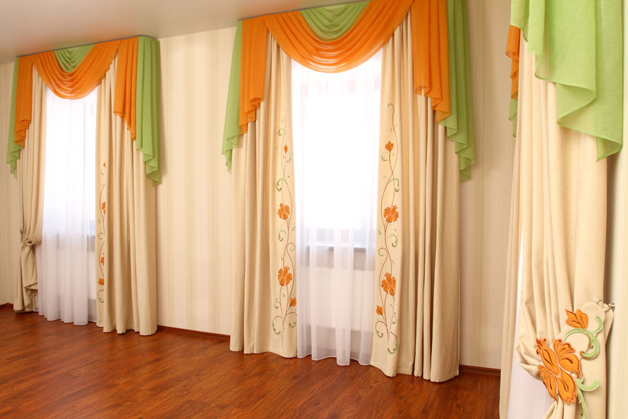 C mo hacer cortinas decoradas con papel tissue for Como hacer cortinas modernas
