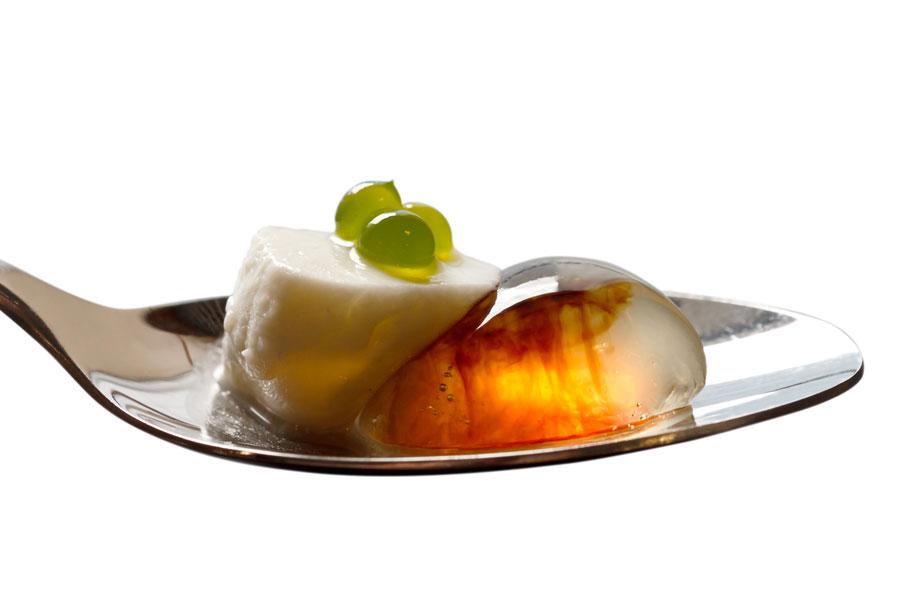 Recetas de cocina molecular: gelatinas