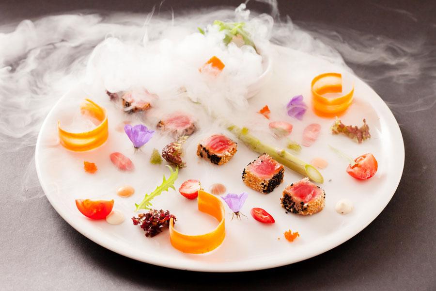 t cnicas variadas de cocina molecular