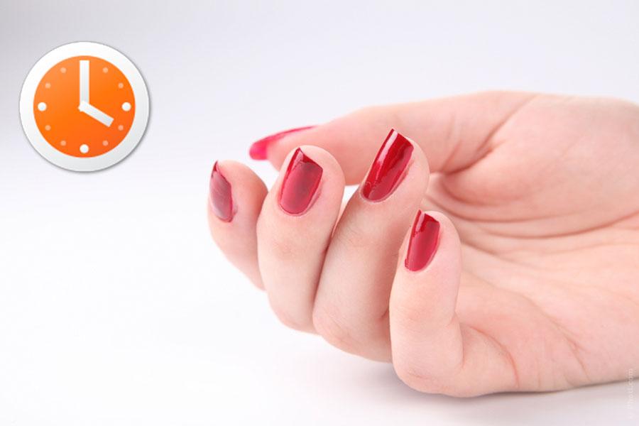 Cómo secarse las uñas en 3 minutos - Video