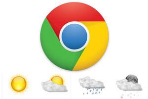 Extensión para conocer el clima en Chrome