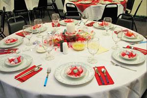 3 ideas para decorar la mesa en Navidad