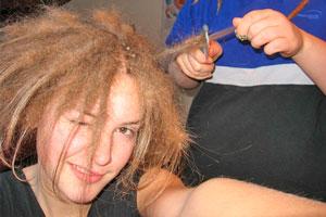 Cómo tener rastas con el cabello fino
