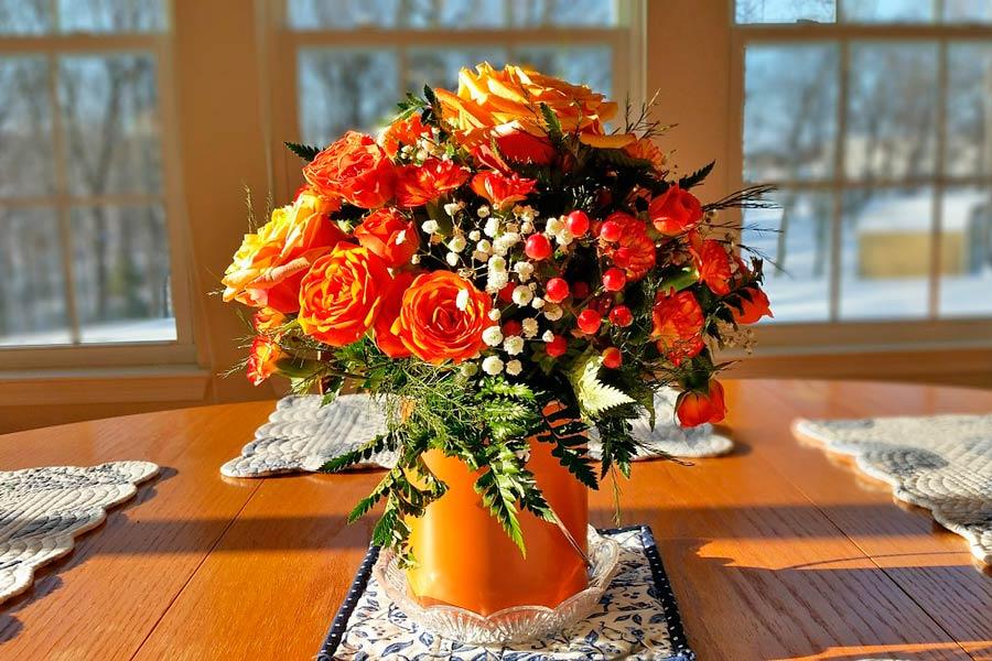 Tips para mejorar los adornos florales. Cómo destacar los arreglos florales. Trucos para lucir arregos florales hermosos