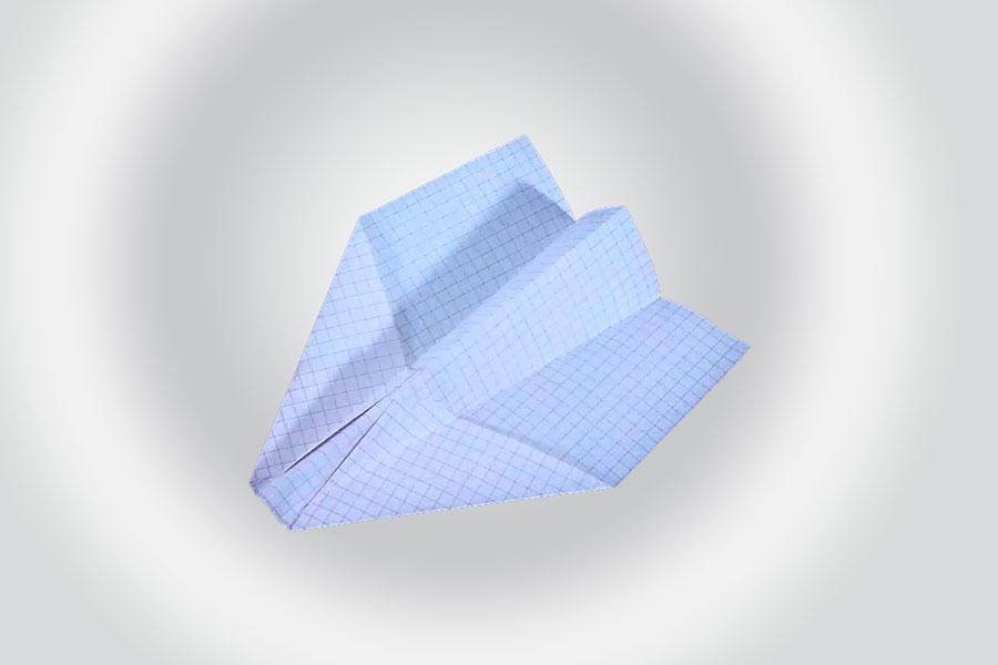 Cómo hacer un avion planeador de papel - Video