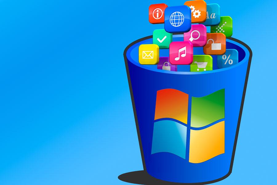 Aprende a desinstalar juegos, explorer y otras aplicaciones de Windows