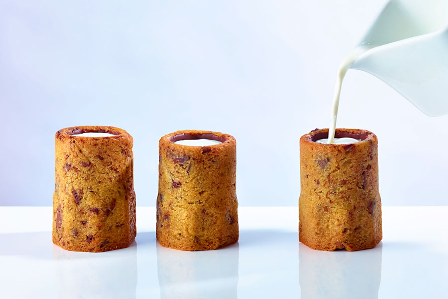 Cómo preparar shots de galletas de chocolate. Cómo preparar shots de galletas. Receta de shots de galletas rellenos de chocolate