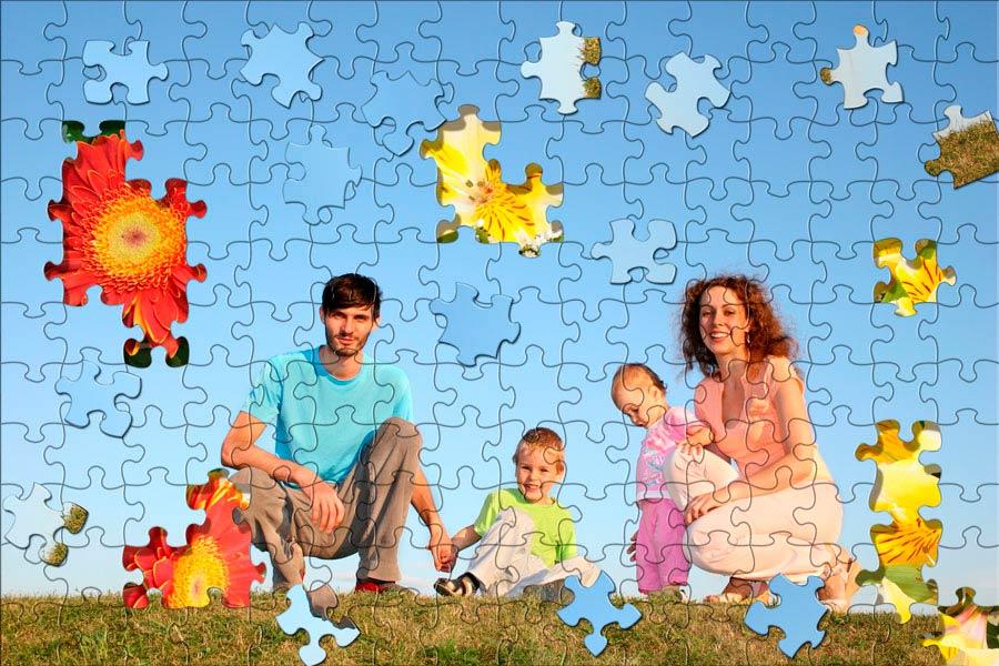 Cómo hacer un rompecabezas con una foto familiar. Guía para armar un puzzle con fotos familiares. Crea tu propio puzzle casero con una foto familiar