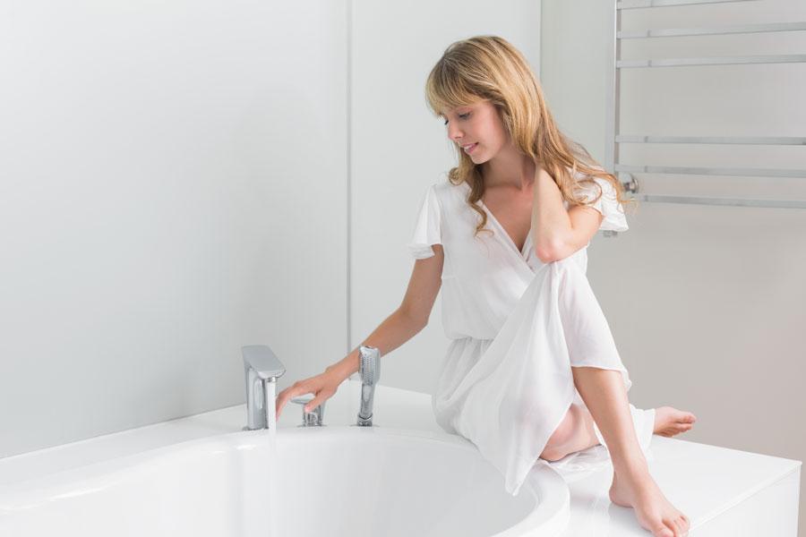 Limpiar Regadera De Baño Con Vinagre:para limpiar las energías con un baño de vinagre Como bañarte con