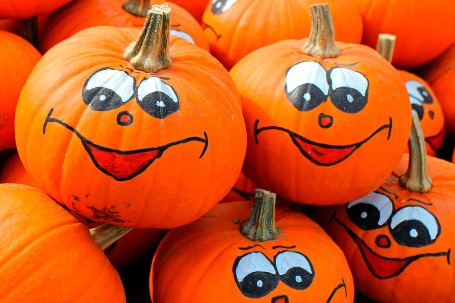 L mparas de calabaza originales para halloween - Disenos de calabazas de halloween ...