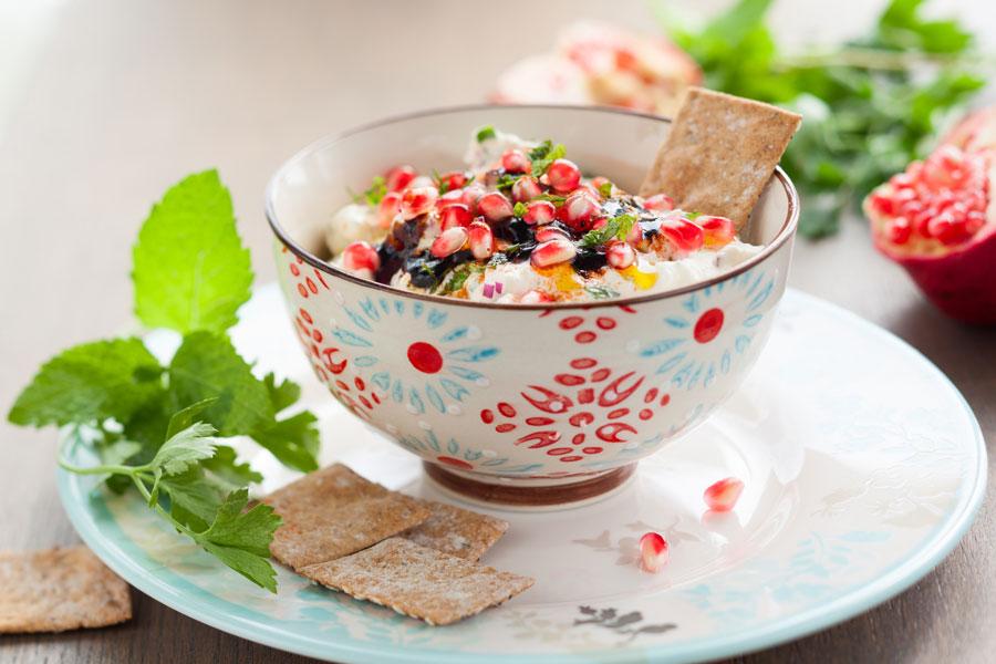 Preparaciones con semillas de granada. Platos con semillas de granada. Ingredientes y preparación de platos con semillas de granada