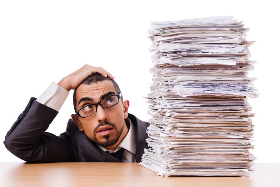 Tips para eliminar la carga excesiva de trabajo. Cómo ser organizado y reducir la cantidad de trabajo. Guia para tener menos cantidad de trabajo