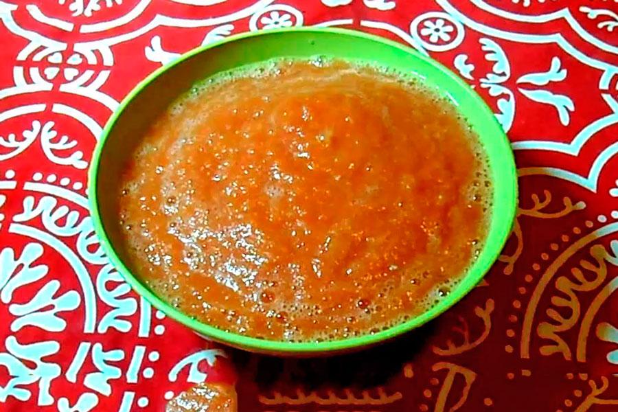 Receta para hacer salsa ranchera. Cómo preparar salsa ranchera casera. Preparación rápida de la salsa ranchera.