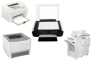 3 tipos de impresoras: