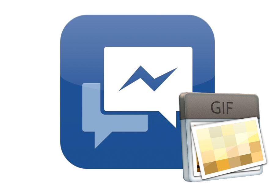 Pasos para enviar gif animados en Facebook Messenger. Cómo compartir archivos gif en el chat de facebook messenger.