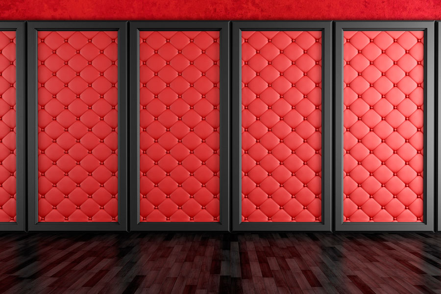 C mo tapizar un muro - Telas para tapizar paredes ...