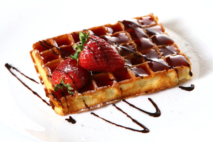 Receta de wafles sin gluten apto para celíacos. Cómo preparar wafles para celíacos. Ingredientes sin gluten para hacer wafles