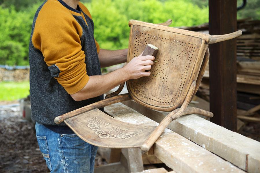 C mo restaurar sillas viejas - Sillas para restaurar ...