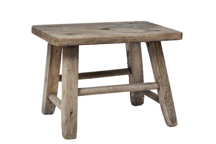 Guía para convertir una banqueta en una mesa. Pasos para transformar una vieja banqueta en una mesa auxiliar.