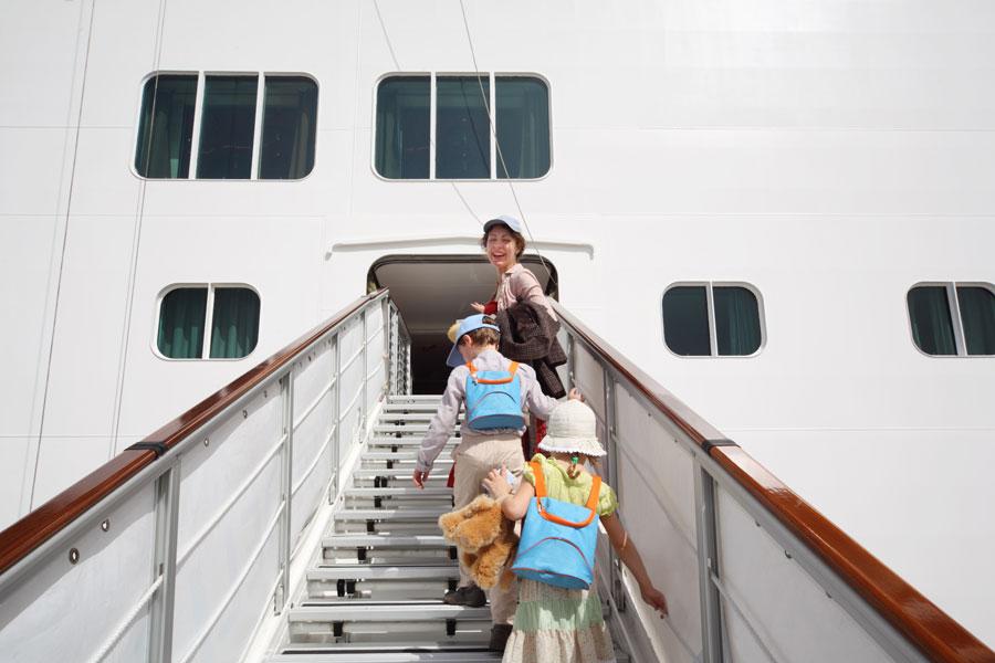 Tips para viajar en crucero con los niños. Cómo organizar un viaje en crucero con niños. Claves para disfrutar de un crucero con niños