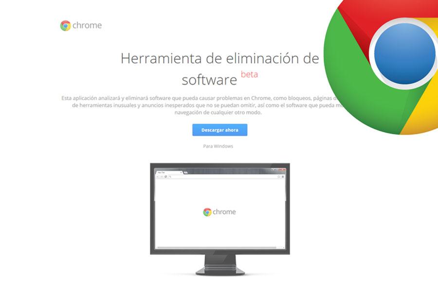 Aplicación para eliminar los virus de Chrome. Cómo escanar Chrome para detectar virus. Herramienta para eliminar los virus instalados en Google Chrome