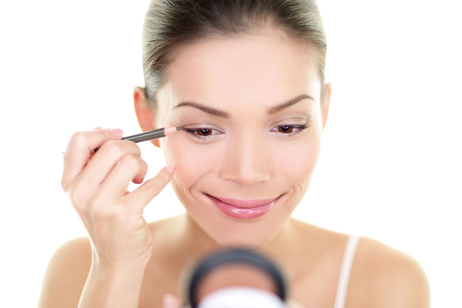 Guía para delinear los ojos. Cómo delinear los ojos facilmente. Pasos simples para delinear los ojos. Cómo aplicar delineador de gel, lapiz o líquido