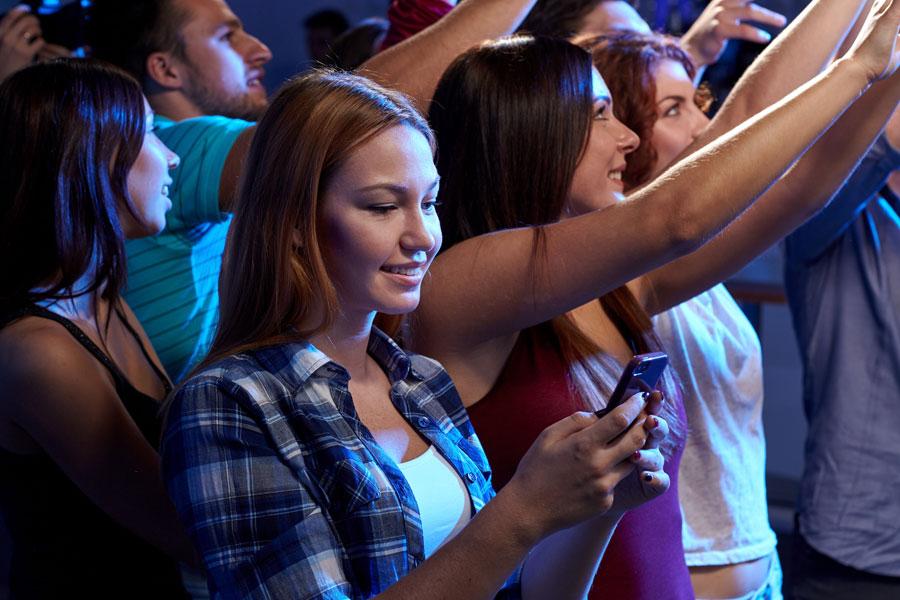 Aplicaciones útiles para conciertos. Apps móviles para grabar conciertos. Cómo estar informado de futuros conciertos