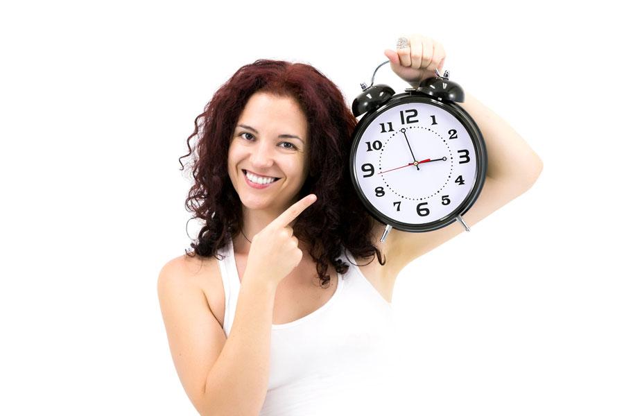 El mejor momento para hacer actividades según el reloj biologico. Cómo conocer tu reloj interno para hacer actividades. Tu reloj intero y personal