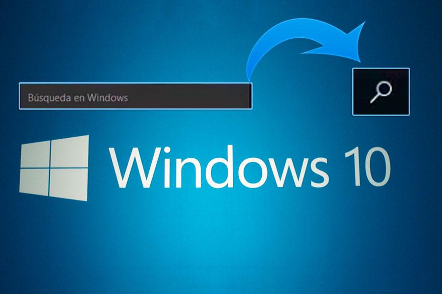 Cómo personalizar la barra de búsqueda en Windows 10. Cómo cambiar el tamaño de la barra de búsqueda en Windows 10. Barra de tareas de Windows 10