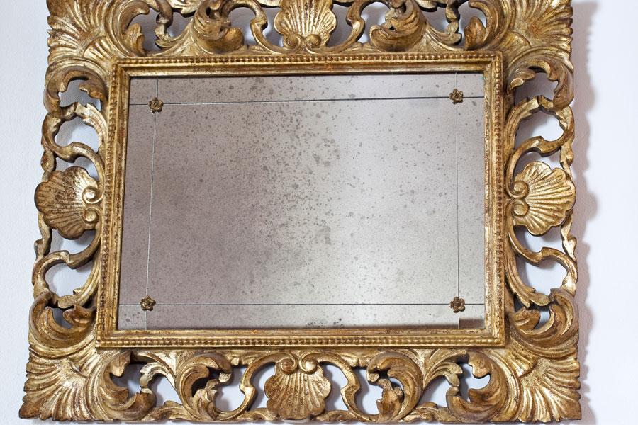 Cómo crear un espejo antiguo a partir de un marco. Cómo envejecer un espejo. Técnica para crear un espejo antiguo