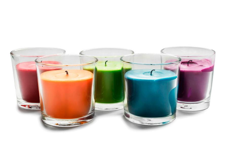 Cómo fabricar velas sin cera. Ingredientes para hacer velas sin cera. técnica para hacer velas artesanales sin cera