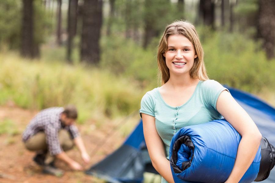 Tips para el cuidado de un saco de dormir. Cómo proteger un saco de dormir. Limpieza de un saco de dormir. Cómo cuidar y limpiar un saco de dormir