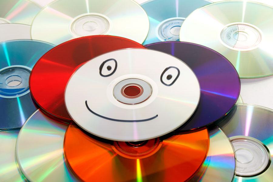 Qu hacer con cds viejos - Manualidades con discos ...