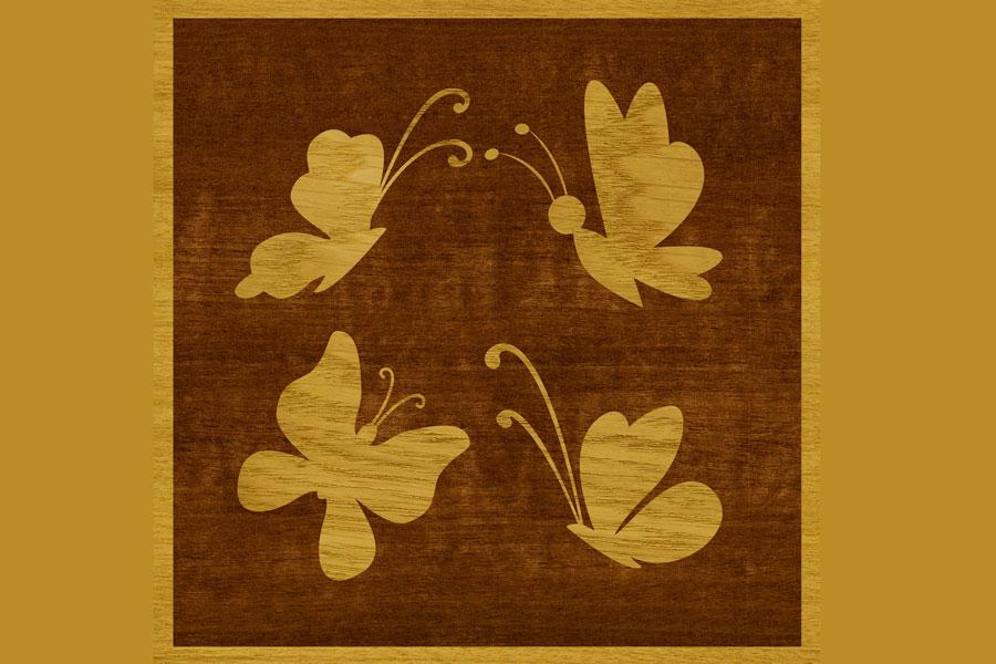 Técnica para teñir madera con dibujos. Diseños para aplicar en madera. como enmascarar maderas con dibujos. Teñir maderas con diseños originales