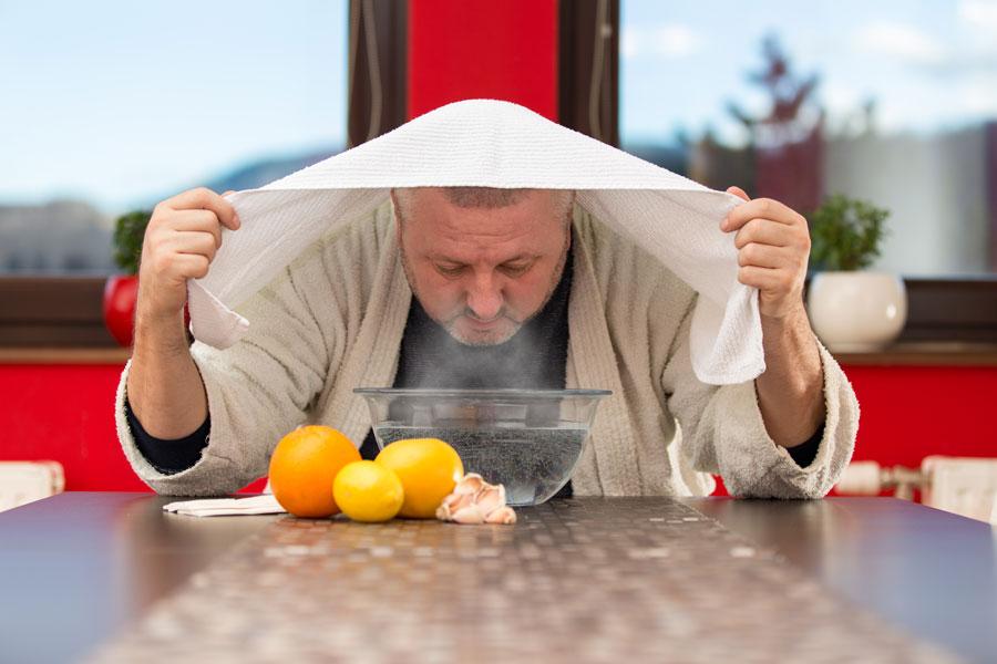 Trucos para destapar la nariz. Remedios caseros para descongestionar la nariz. Métodos caseros para destapar la nariz.