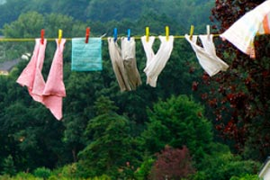 Consejos para ahorrar desde la colada o tanda de ropa a lavar