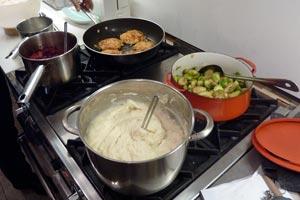 Consejos para ahorrar el cocinar para muchas personas