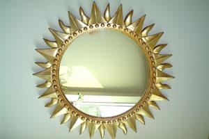 Algunas ideas para renovar los marcos de espejos