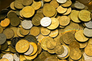 Cómo ahorrar con sólo monedas